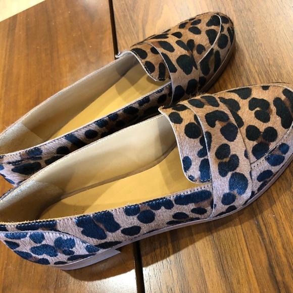 Sezane Shoes | Sezane Leopard Loafers